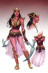 Dejah Thoris Redesign