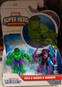 Hulk and Marvel's Hawkeye