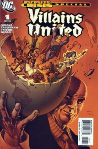 Villains United Infinite Crisis Special 01