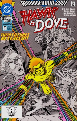 A2001TieinHawk And Dove Annual