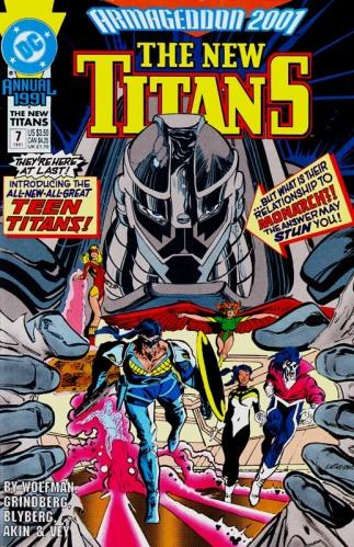 A2001TieinNew Titans Annual