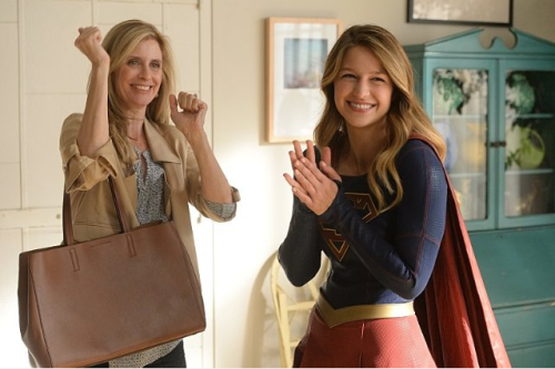 Supergirl meets Supergirl