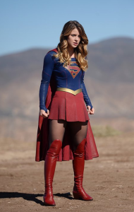 Supergirl Red Faced