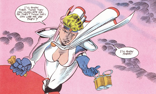 Power Girl Soda