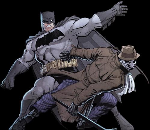 Batman Rorschach