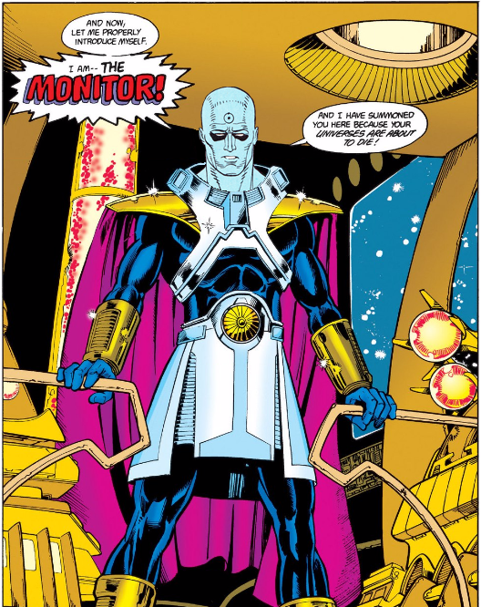Dr Manhattan The Monitor