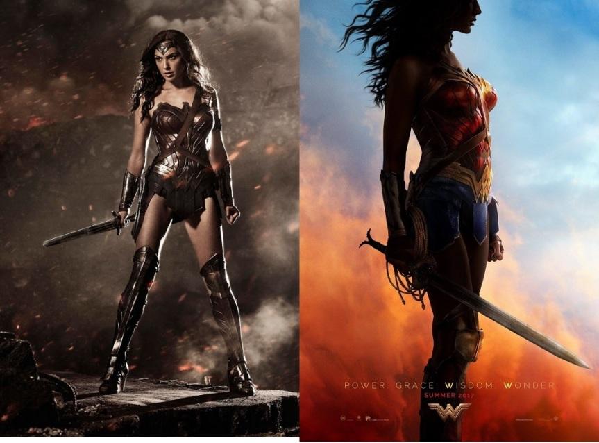 Wonder Woman Comparison