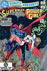 This is one of those that predates Crisis #7 by a couple of years. Worth including if only for the gorgeous Gil Kane art.