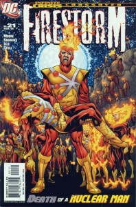 Another Infinite Crisis crossover, this time with Firestorm.