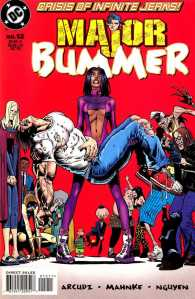 Major Bummer #12, a DC title unusual in that it was separate from the main DCU.