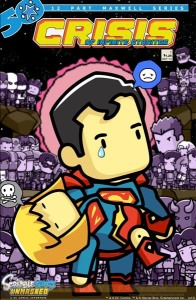 A Scribblenauts variant cover.