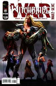Cover to Witchblade #128.
